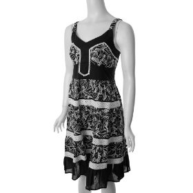 Black Dress Shop on Black And White Summer Dress   Dresses Planet