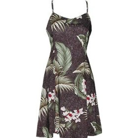 Wild Orchid Hawaiian Aloha Summer Dress for Women